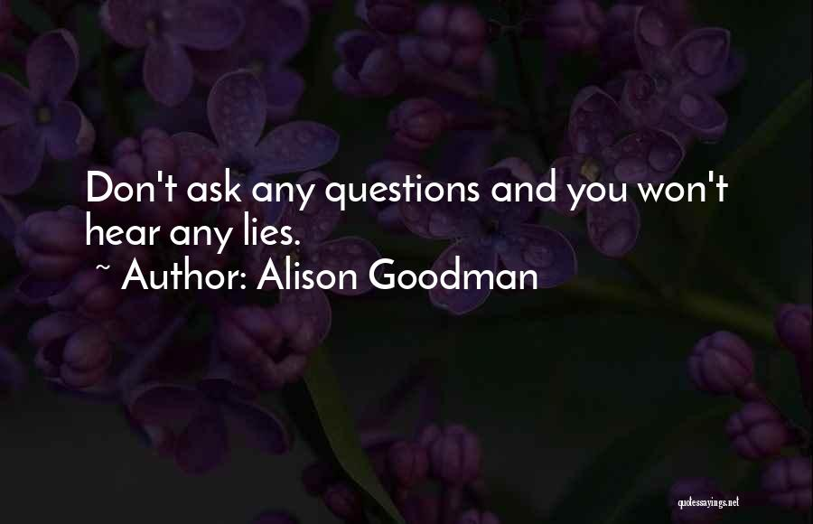 Alison Goodman Quotes 445258