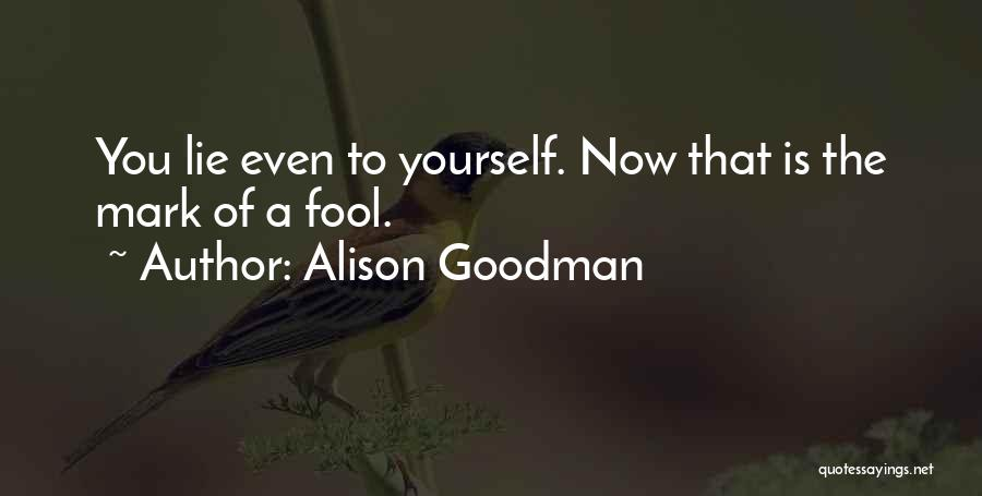 Alison Goodman Quotes 628710