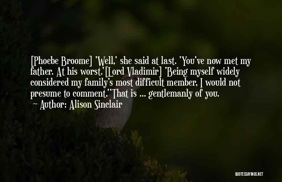 Alison Sinclair Quotes 2049255