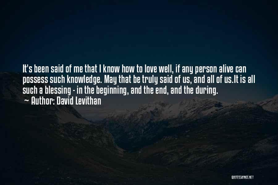 Alive And Well Quotes By David Levithan