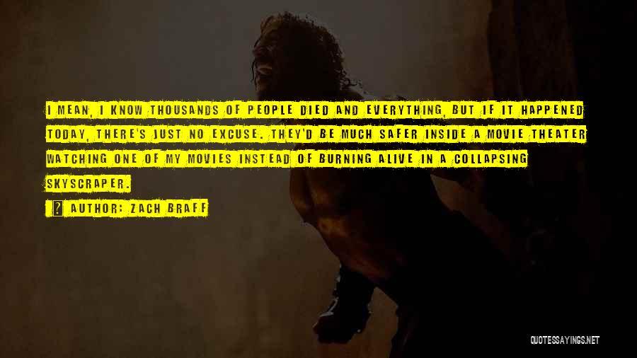 Alive Inside Movie Quotes By Zach Braff