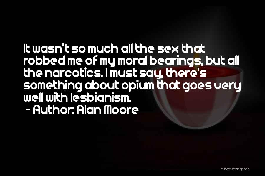 All About Me Quotes By Alan Moore