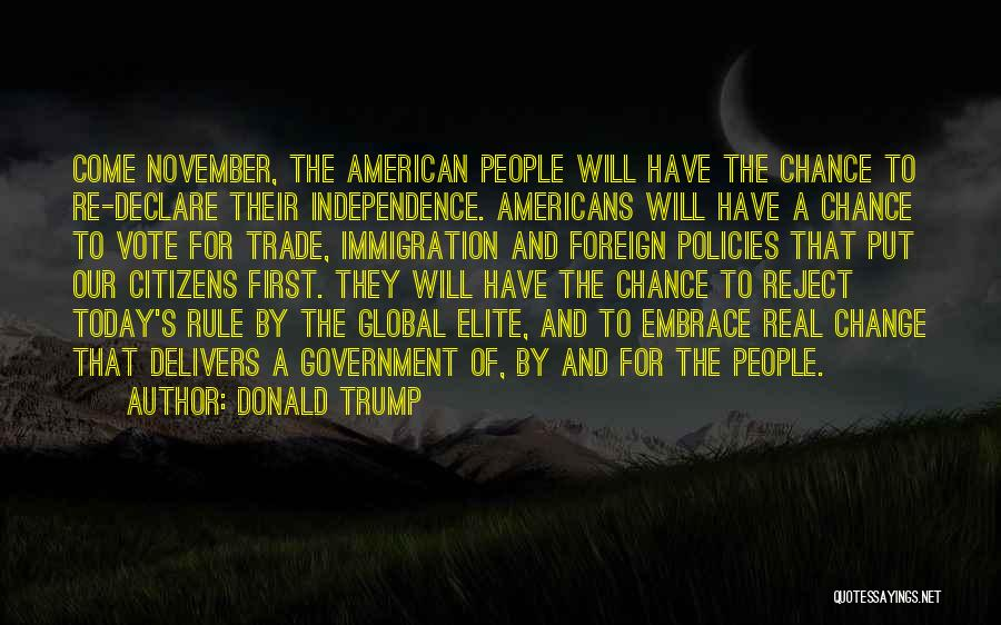 All American Reject Quotes By Donald Trump