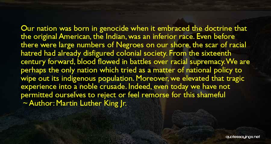 All American Reject Quotes By Martin Luther King Jr.