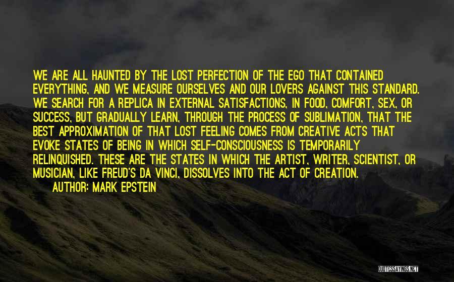 All Da Best Quotes By Mark Epstein
