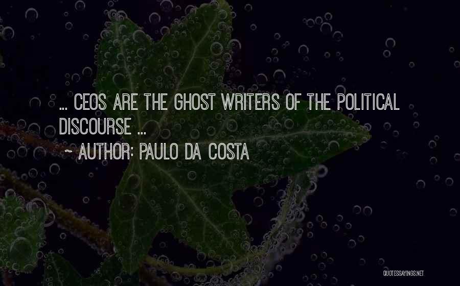 All Da Best Quotes By Paulo Da Costa