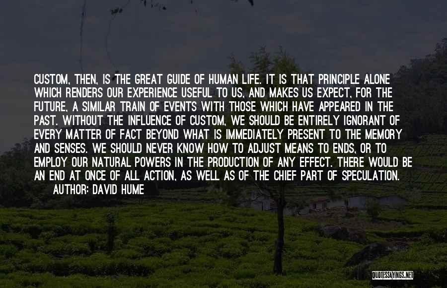 All Ends Well Quotes By David Hume
