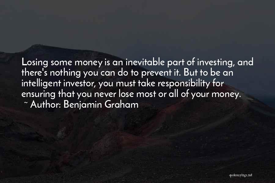 All For Money Quotes By Benjamin Graham
