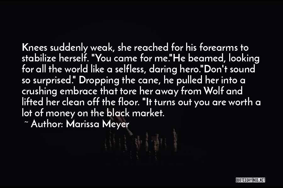 All For Money Quotes By Marissa Meyer
