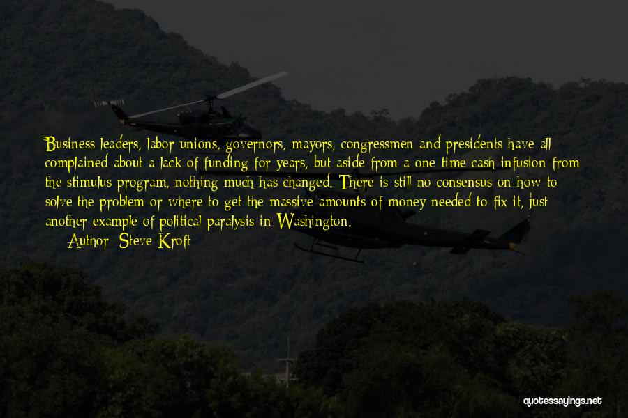 All For Money Quotes By Steve Kroft