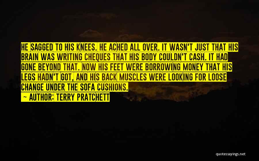 All For Money Quotes By Terry Pratchett