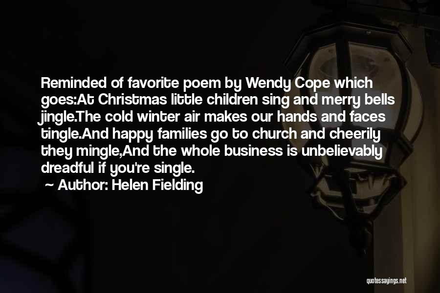All I Want Is You For Christmas Quotes By Helen Fielding