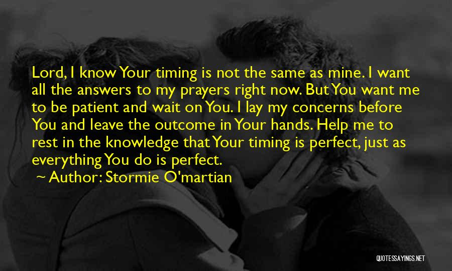 All I Want Quotes By Stormie O'martian