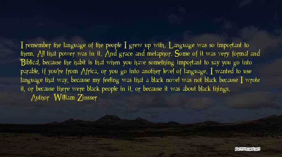 All I Wanted Was You Quotes By William Zinsser