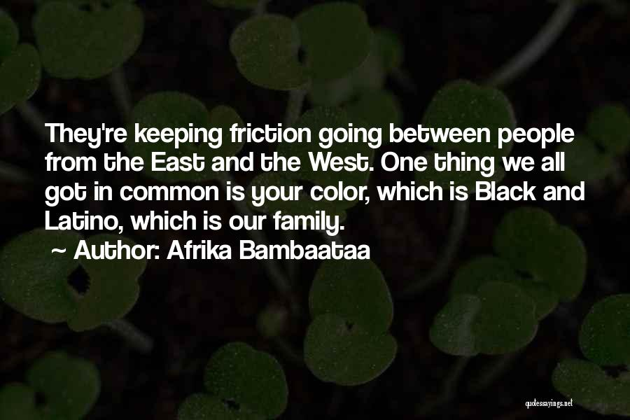 All In Family Quotes By Afrika Bambaataa