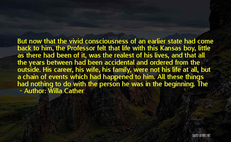 All In Family Quotes By Willa Cather