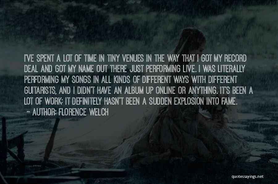 All Kinds Of Quotes By Florence Welch
