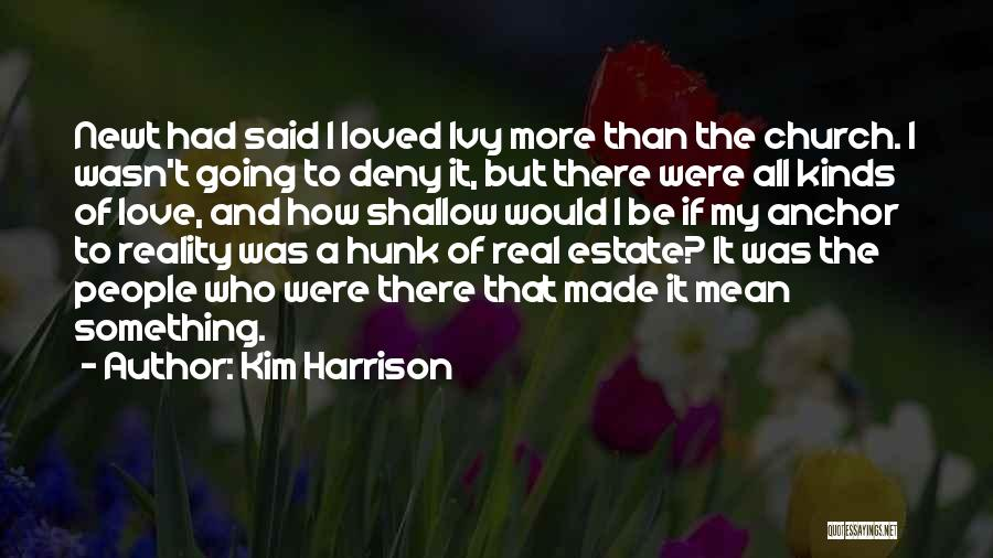All Kinds Of Quotes By Kim Harrison