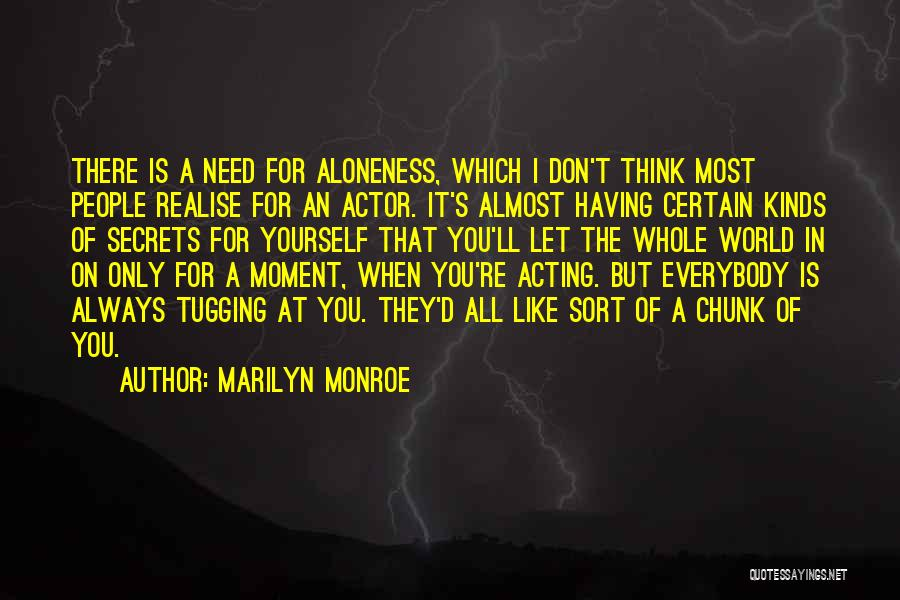 All Kinds Of Quotes By Marilyn Monroe