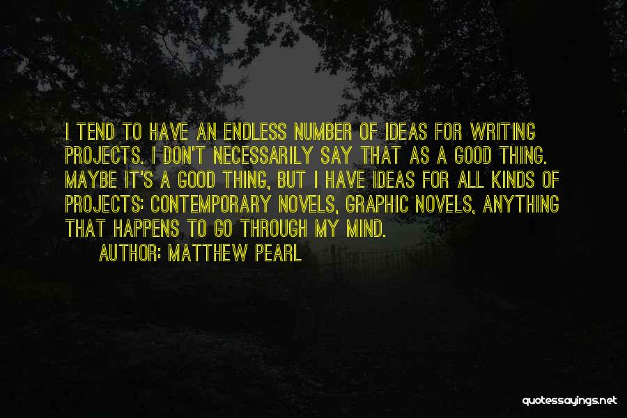 All Kinds Of Quotes By Matthew Pearl