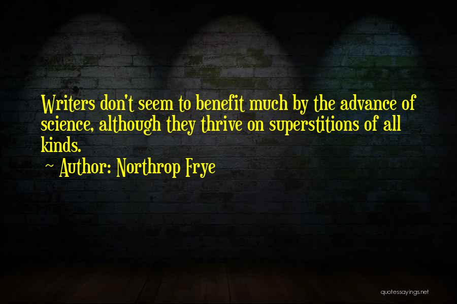 All Kinds Of Quotes By Northrop Frye