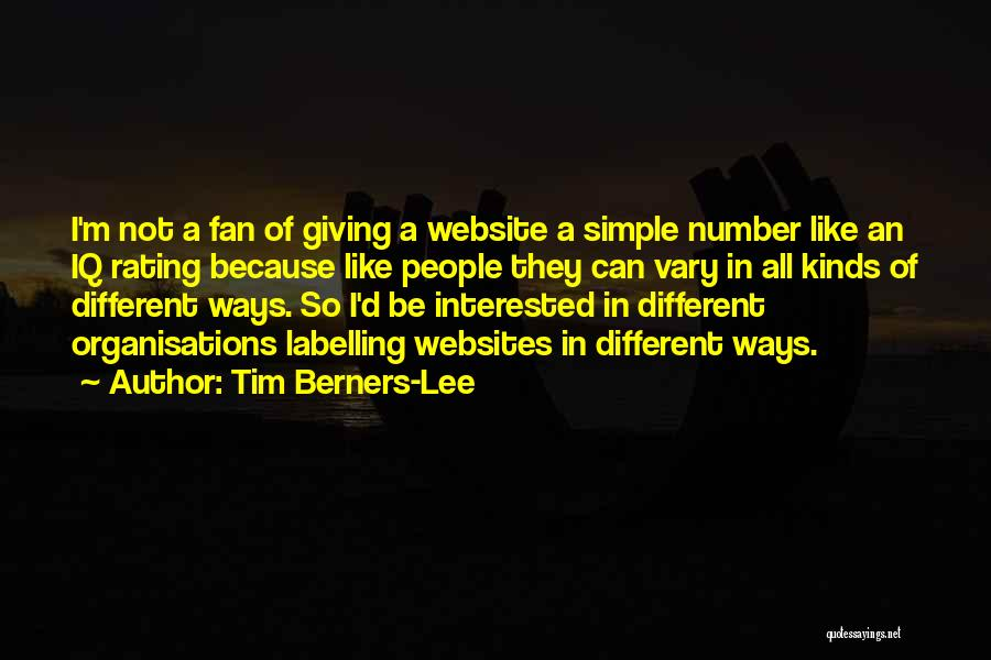 All Kinds Of Quotes By Tim Berners-Lee