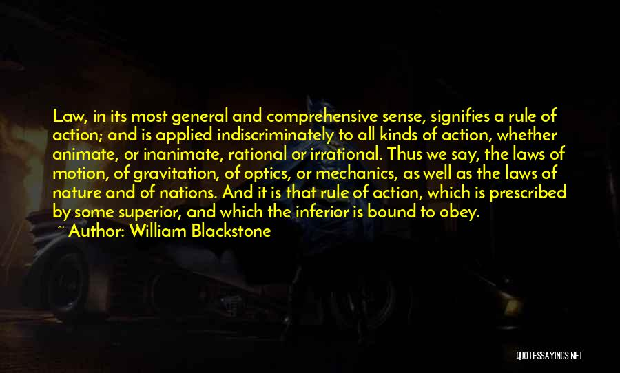 All Kinds Of Quotes By William Blackstone