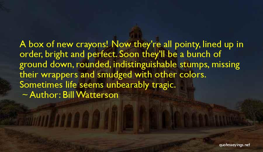 All Lined Up Quotes By Bill Watterson
