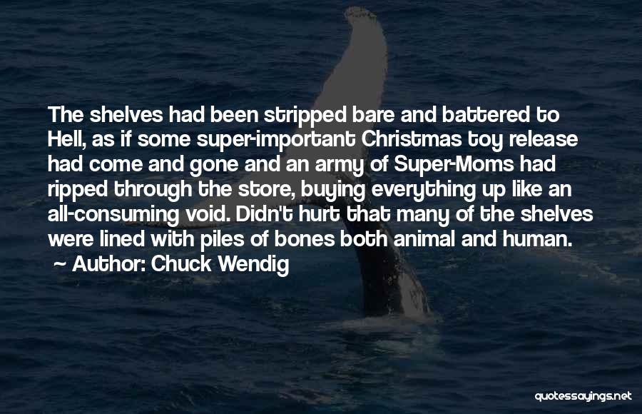 All Lined Up Quotes By Chuck Wendig