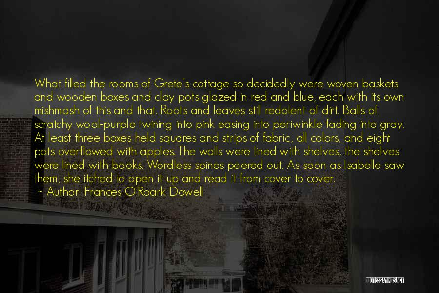 All Lined Up Quotes By Frances O'Roark Dowell