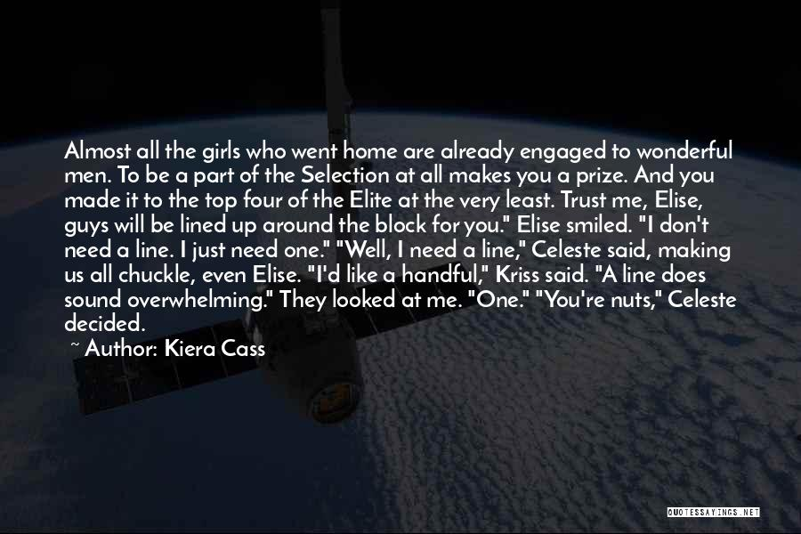 All Lined Up Quotes By Kiera Cass