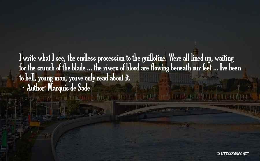 All Lined Up Quotes By Marquis De Sade
