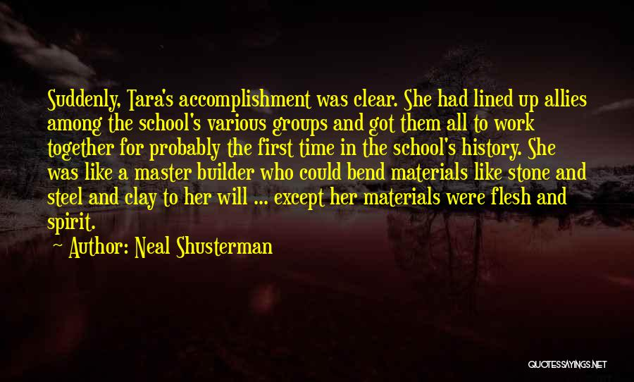 All Lined Up Quotes By Neal Shusterman