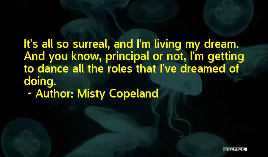 All Misty Quotes By Misty Copeland