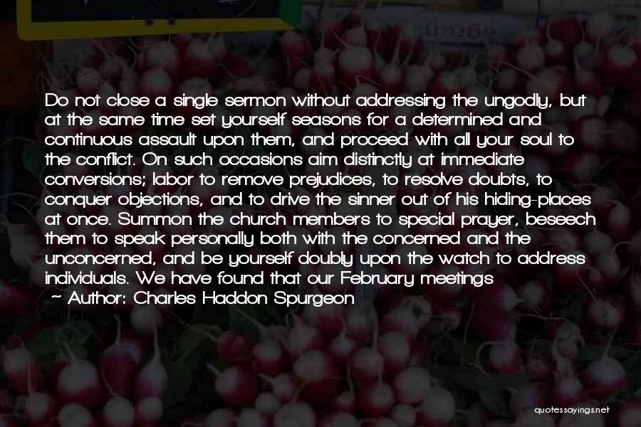 All Seasons Quotes By Charles Haddon Spurgeon
