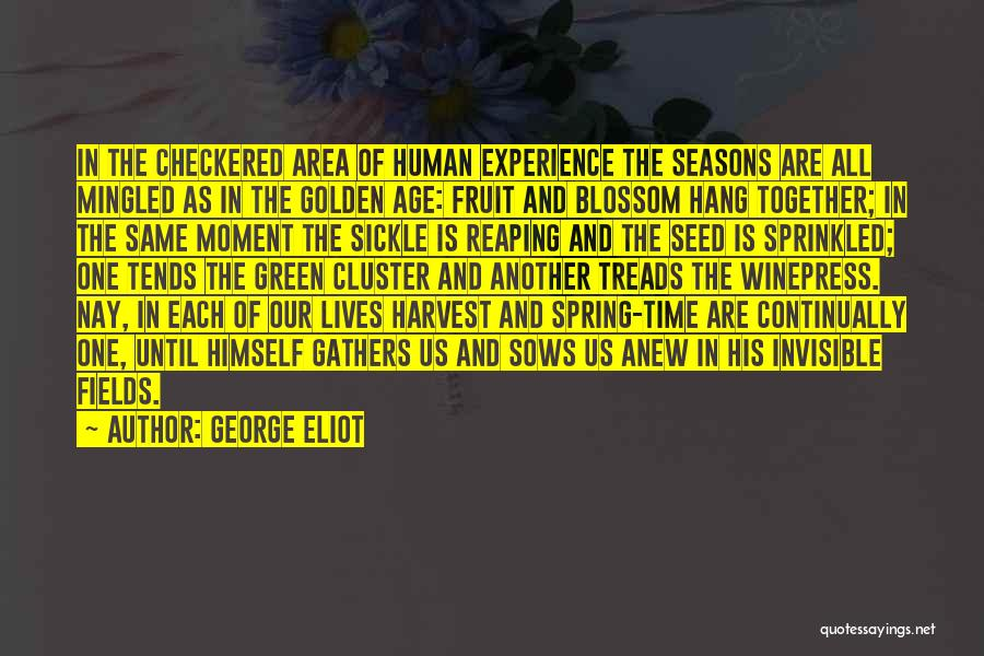 All Seasons Quotes By George Eliot