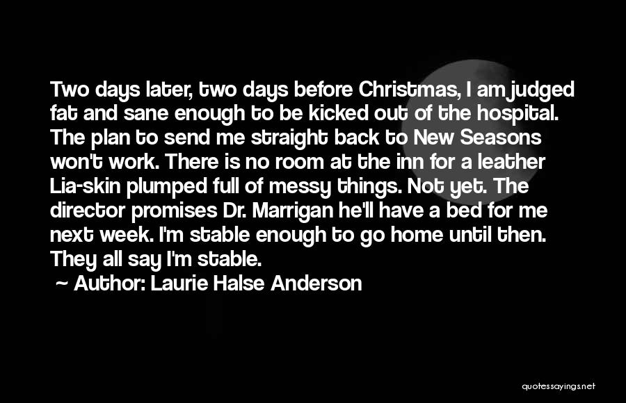 All Seasons Quotes By Laurie Halse Anderson