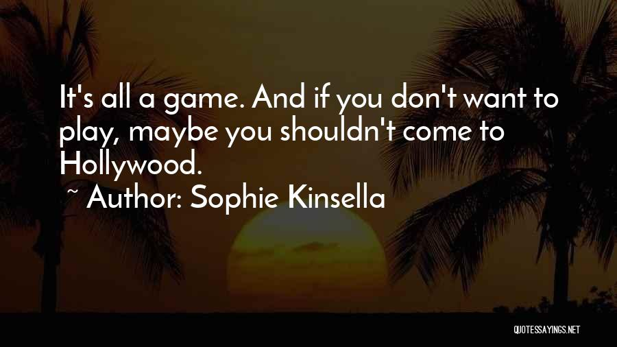 All Star Game Quotes By Sophie Kinsella
