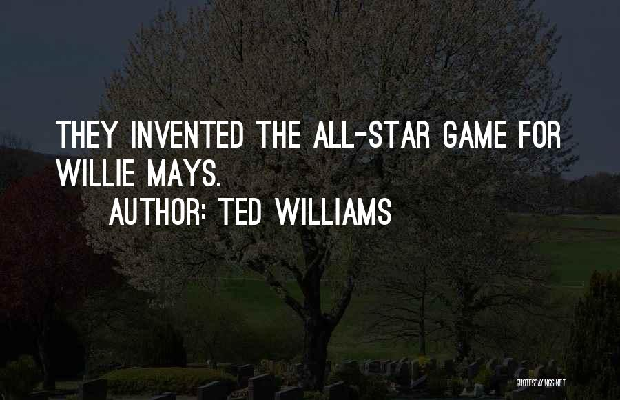 All Star Game Quotes By Ted Williams