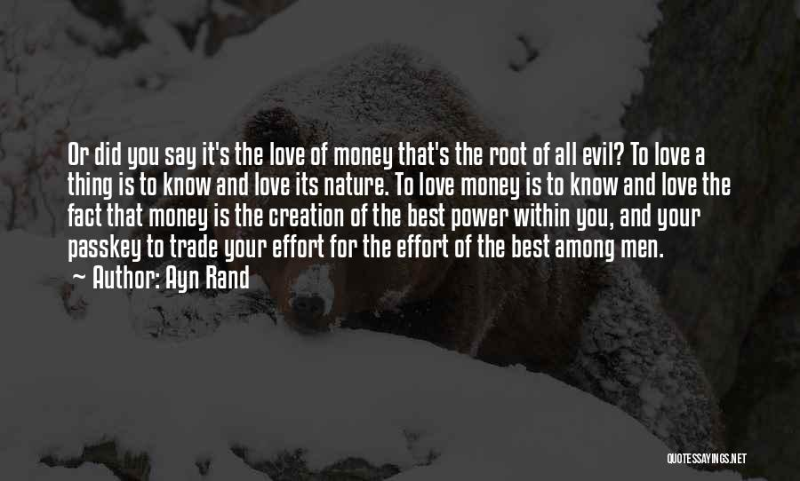 All The Best For Your Love Quotes By Ayn Rand
