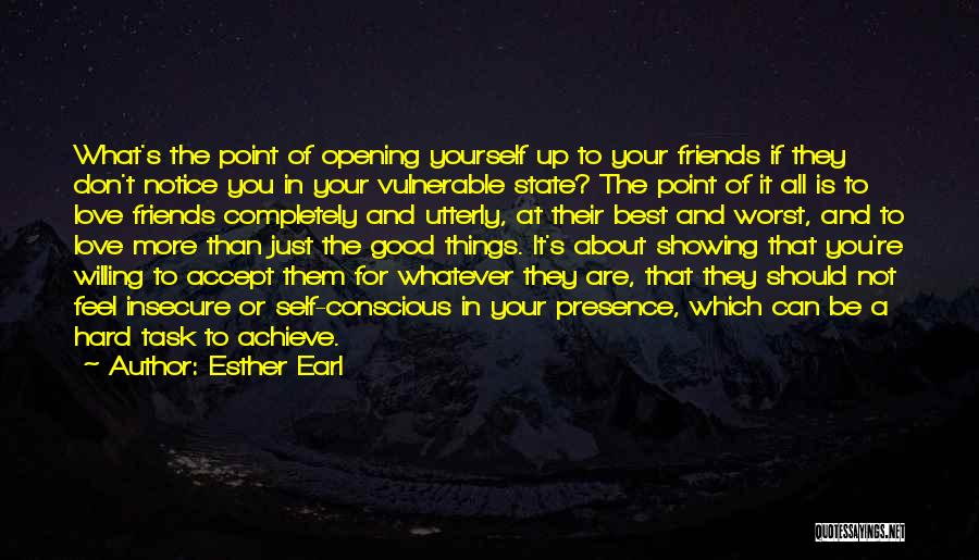 All The Best For Your Love Quotes By Esther Earl