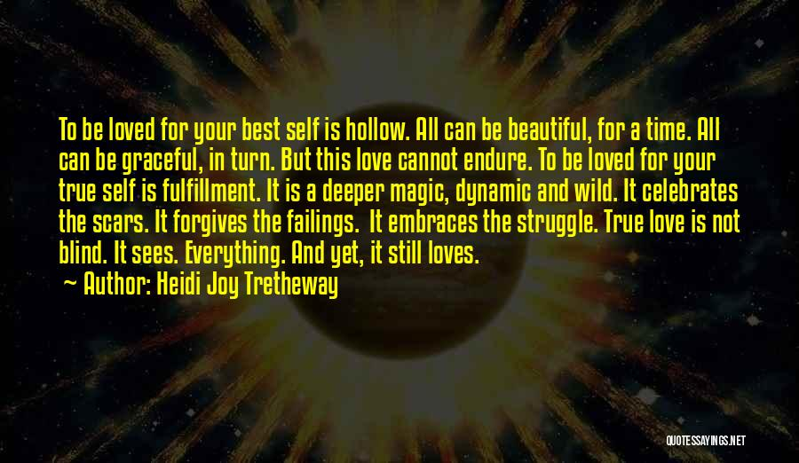 All The Best For Your Love Quotes By Heidi Joy Tretheway