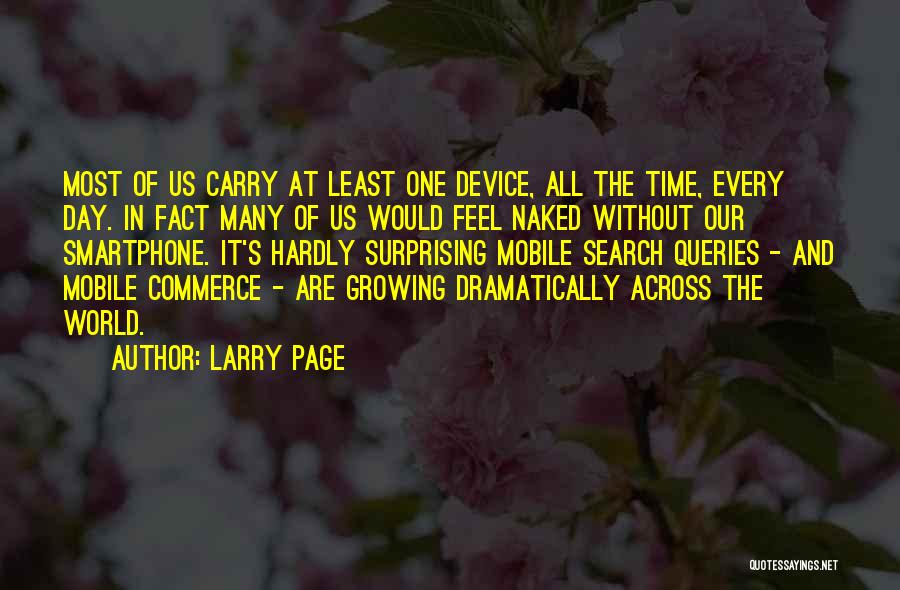 All The Time Quotes By Larry Page