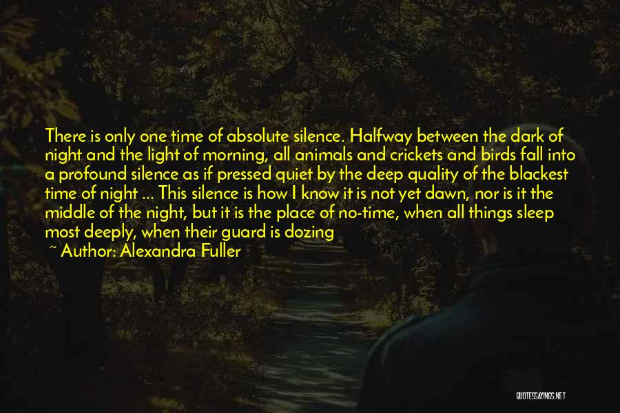 All Things Fall Into Place Quotes By Alexandra Fuller