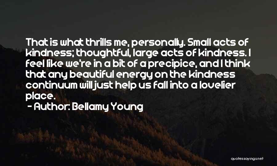 All Things Fall Into Place Quotes By Bellamy Young