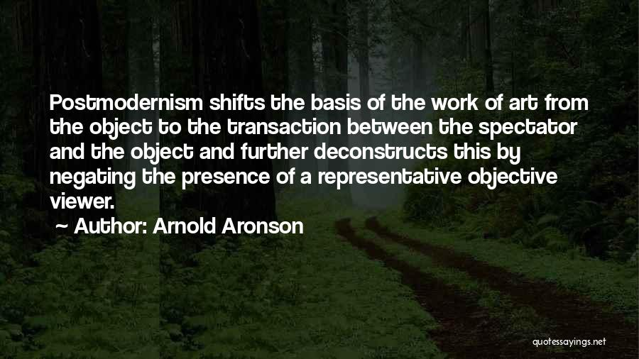 All Your Bases Quotes By Arnold Aronson