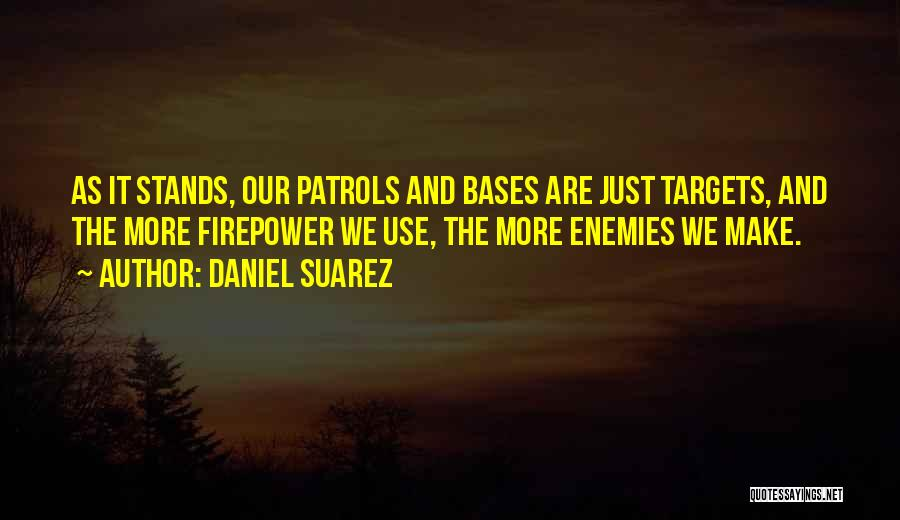 All Your Bases Quotes By Daniel Suarez
