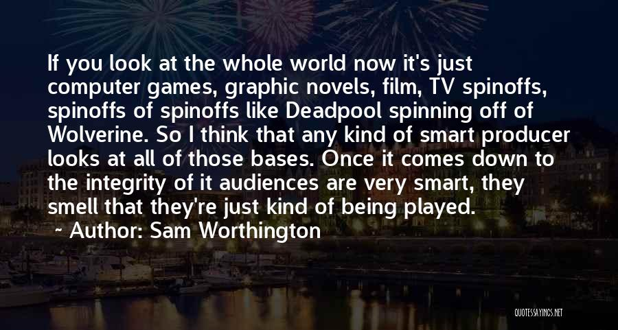 All Your Bases Quotes By Sam Worthington