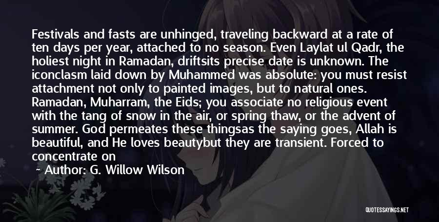 Allah Is The Only God Quotes By G. Willow Wilson