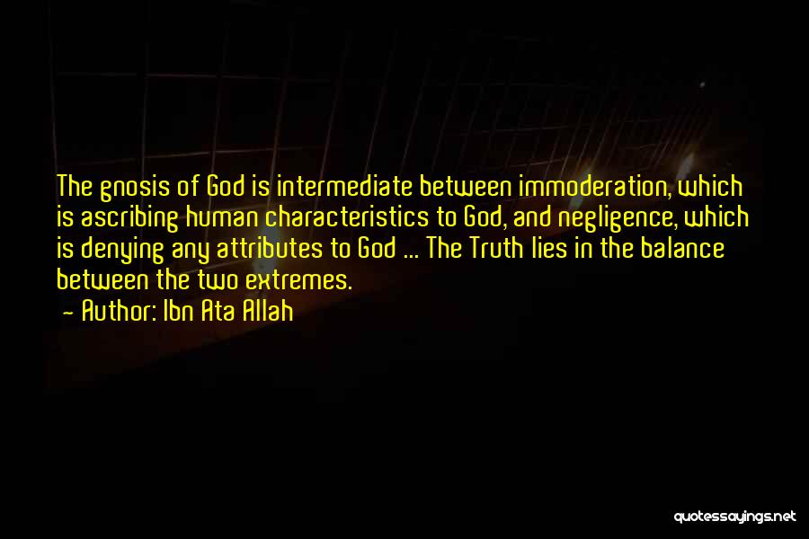Allah Is The Only God Quotes By Ibn Ata Allah
